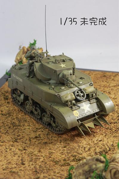 未完的M5A1後期型