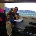 往東京的電車上