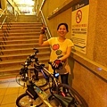 2011.0803~與蘭姐騎至竹圍~37公里