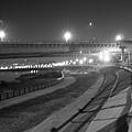 清晨4:00的周美快速道路陸橋