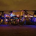 馬場町角落裡的兩輛幽靈單車