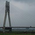 2009.1129.新莊~路過二重疏洪道上方正在興建的新橋...&蛋頭~18公里