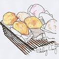 2010.0131~2~在食習廚房的練習畫