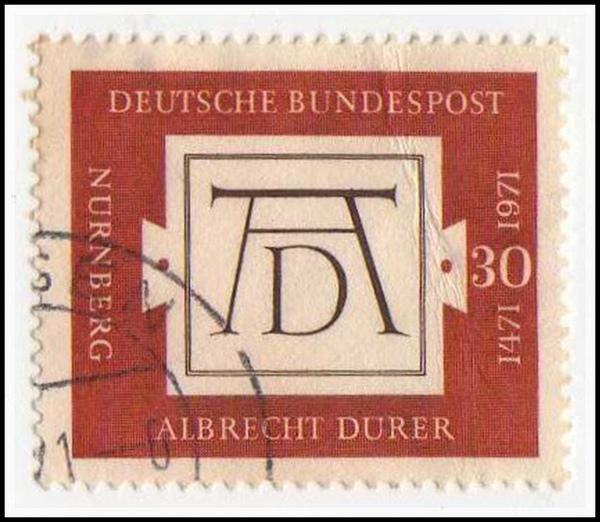 杜勒簽名郵票.jpg