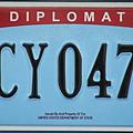 2015年02月28日我駐美處換外交車牌 待遇比照別國