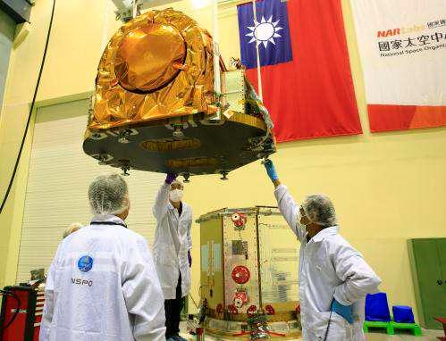 2015年05月13日衛星自主大跨步 福衛五號明年Q1將升空