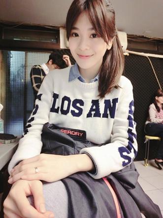 2015年07月14日《台灣大學神正妹》5月份馬尾神正妹─2號Emil