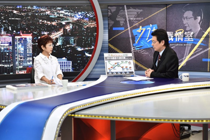 2015年07月31日洪秀柱專訪 - TVBS少康戰情室