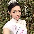 2015年10月29日台灣美女打敗百餘人 強摘大陸選美后冠