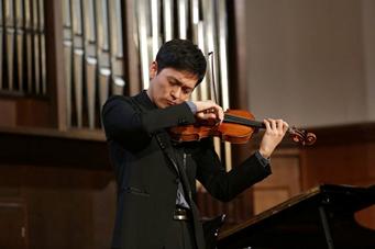 2016年07月30日中華民國之光!小提琴家曾宇謙 獲國際音樂獎