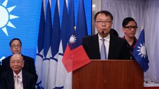 2016年11月21日中國國民黨港澳總支部122周年黨慶 陳主委談話
