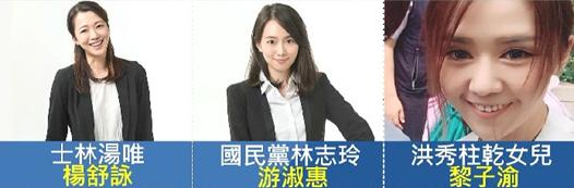2017年05月22日藍黨代表「嬌」點! 藍營版「湯唯、林志玲」