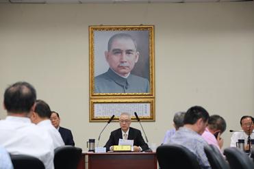 2018年05月03日吳敦義主席於中常會針對「台大校長事件」發表談話