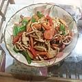 鮮菇素炒麵