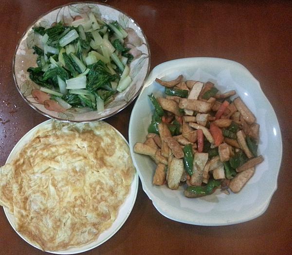 炒豆干全餐