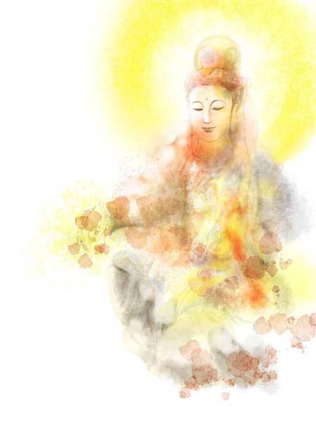蘇大里菩薩畫的菩薩像