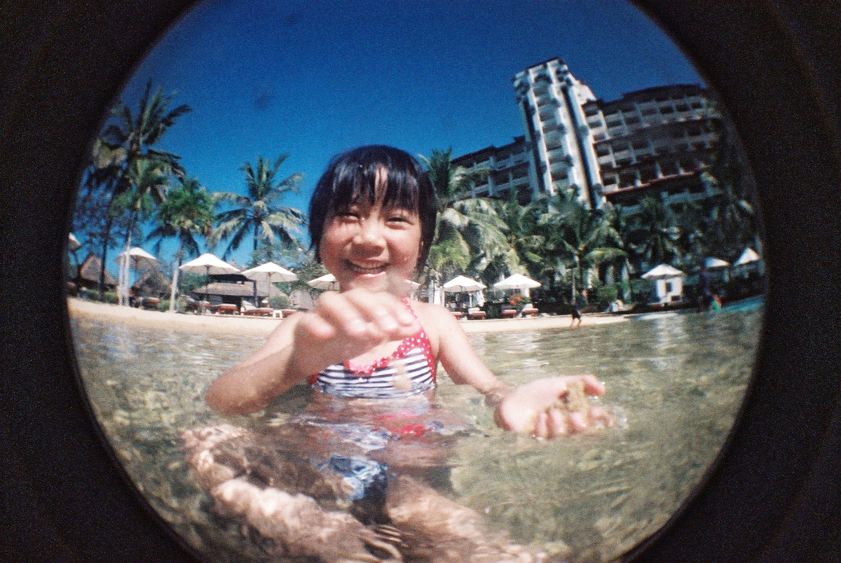 F1330011 Lomo Fisheye II X Fujifilm 1600