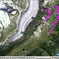 Eiggishorn Hiking Map