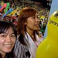 阪神傳統 9局下還要再放一次氣球喔~