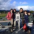 嵐山最有名的渡月橋