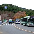 從京都烏丸站做了50分鐘的巴士終於到了