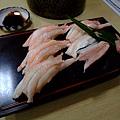 螃蟹握壽司來囉~! 這六個要價日幣1500