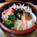 カニ散らし(螃蟹散壽司)