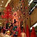 神戶大丸百貨 很有聖誕氣氛