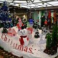 三宮站商店地下街的聖誕裝飾