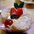 姵吟選的Xmas限定草莓戚風蛋糕
