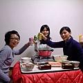 乾杯~慶祝新的一年!