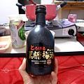 姵吟買的黑糖梅酒很好喝 不過酒精濃度高達14%....