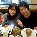 Amanda點的巧克力蛋糕Size超大