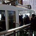 YA 終於要坐兩層式的空中纜車了