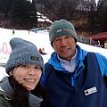 我的滑雪教練 謝謝他一定來就跌倒後就站不起來得我