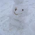 別人作的雪人