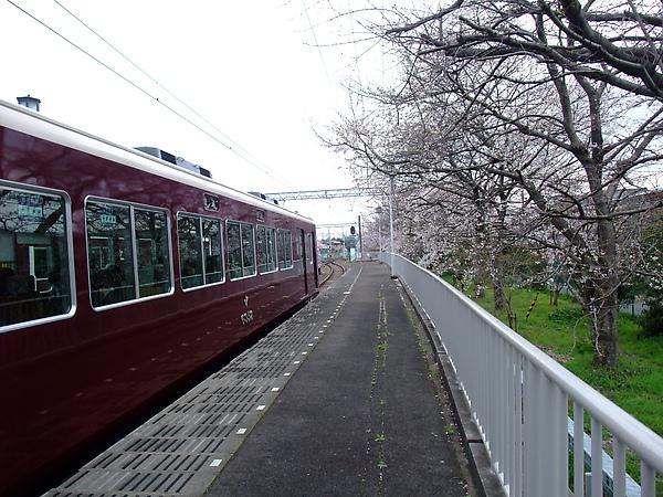 阪急電車嵐山站