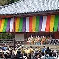 我們誤打誤撞 居然撞到了醍醐寺一年一度的太閣花見行列