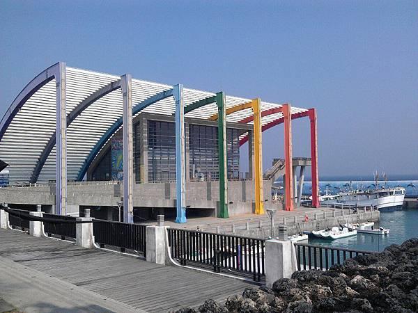 陽光的小琉球白沙尾觀光漁港