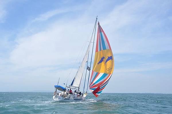 """國內罕見大型的帆船盛會,""""百人橫渡小琉球"""""""