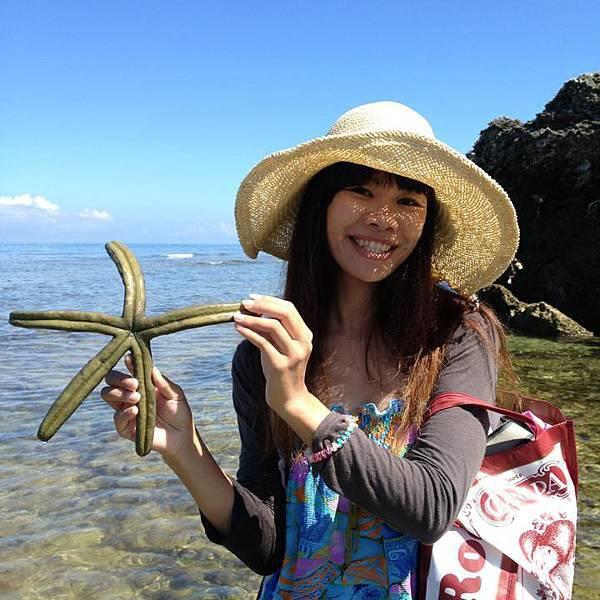小琉球杉福潮間帶藍指海星