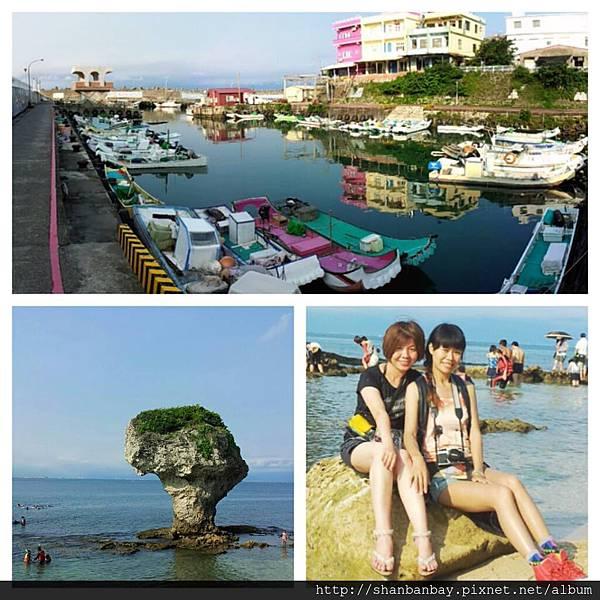 小琉球白沙尾漁港與花瓶岩.jpg