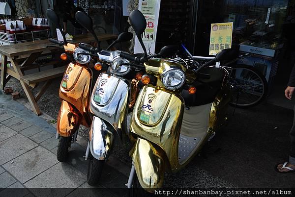 小琉球電動機車,不需要駕照