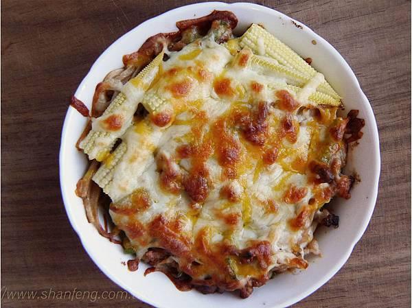 茄汁焗烤麵食譜