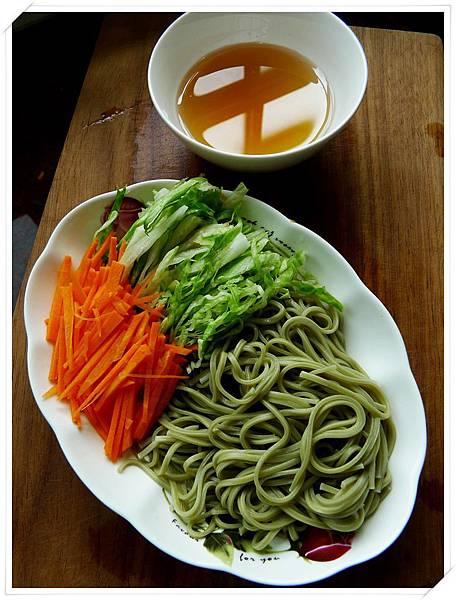 日式抹茶涼麵7