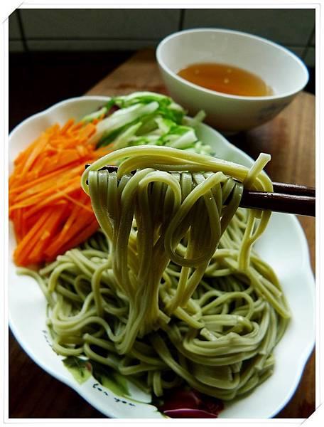 日式抹茶涼麵9
