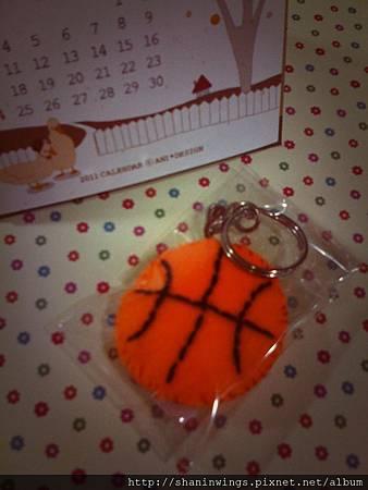 籃球吊飾Q___Q
