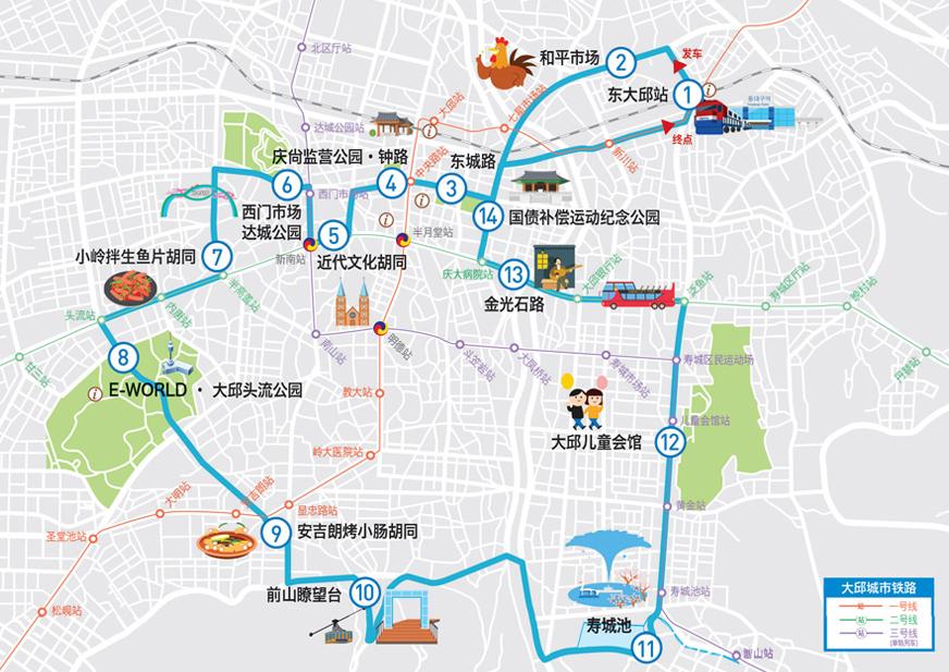 大邱市區循環雙層巴士路線.png