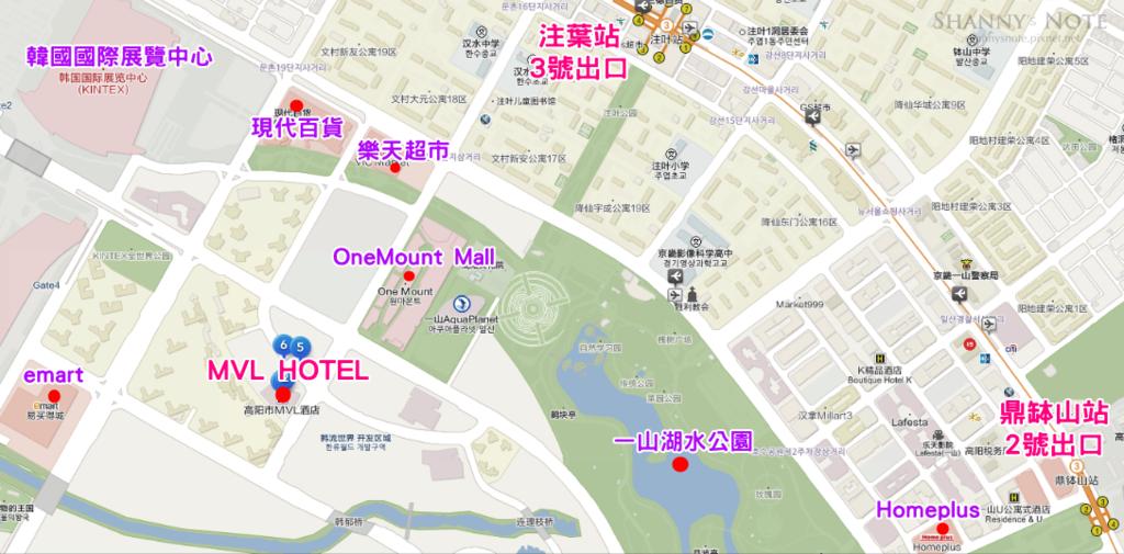 MLV地圖