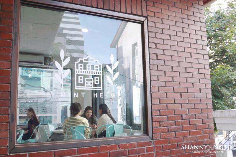 弘大合井薄荷綠咖啡廳Mint Heim08.jpg